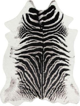 """Erin Gates Acadia Aca-1 Modern Zebra Black 5'3"""" x 7'10"""""""