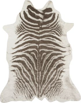 """Erin Gates Acadia Aca-1 Modern Zebra Grey 5'3"""" x 7'10"""""""