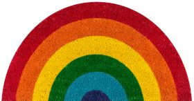 "Novogratz Aloha Alo-8 Rainbow Multi 1'4"" x 2'6"""
