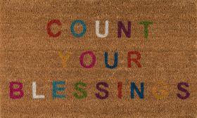 "Novogratz Aloha Alo-5 Count Your Blessings Multi 1'6"" x 2'6"""