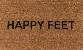 "Novogratz Aloha Alo-7 Happy Feet Natural 1'6"" x 2'6"""
