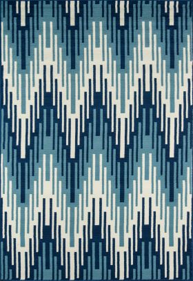 Momeni Baja Baj-6 Ikat Blue