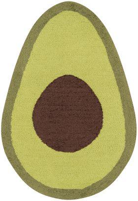 "Novogratz Cucina Cna-5 Avocado Green 2'0"" x 3'0"" Irregular"