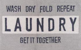 "Novogratz Cucina Cna-6 Laundry Grey 2'3"" x 3'9"""