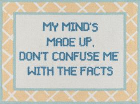 """Madcap Cottage Get Smart Get-6 Facts Of Life Yellow 3'0"""" x 4'0"""""""