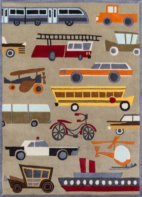Momeni Lil Mo Whimsy Lmj-8 Contemporary Transportation Concrete