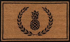 """Erin Gates Park Par-1 Pineapple Black 1'6"""" x 2'6"""""""