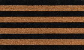 """Erin Gates Park Par-2 Stripe Black 1'6"""" x 2'6"""""""