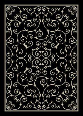 Nourison Home & Garden Black