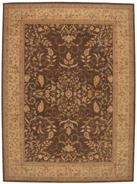Nourison Heritage Hall Traditional, Brown