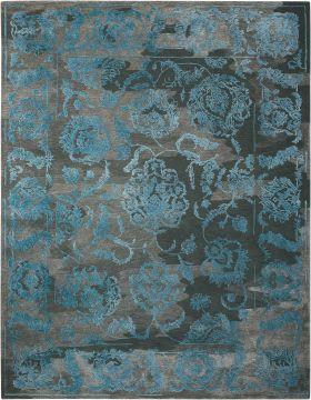 Nourison Opaline Charcoal/Blue
