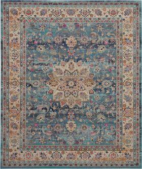 Nourison Vintage Kashan Blue