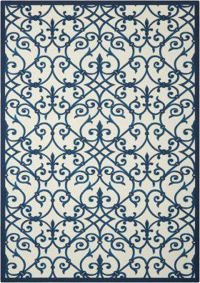 Nourison Home & Garden Blue