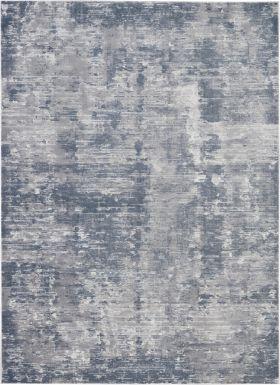 """Nourison Rustic Textures Grey 2'2"""" x 7'6"""" Runner"""