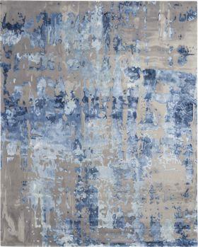 Nourison Prismatic Blue/Grey