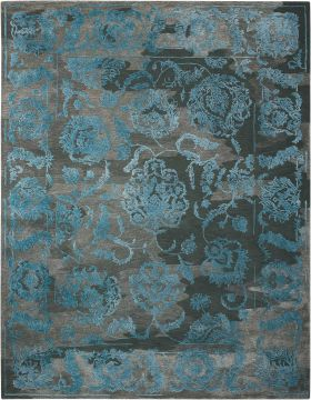 Nourison Opaline Charcoal Blue