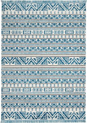 Nourison Kamala Ivory/Blue