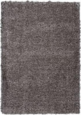 Nourison Luxe Shag Charcoal Grey