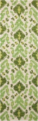 Nourison Siam Ivory Green