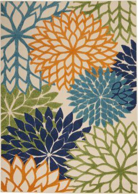 "Nourison Aloha Multicolor 7'10"" x 10'6"""