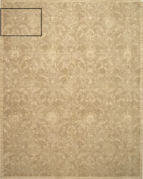 Nourison Silk Elements Sand