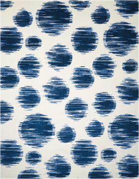 Nourison Twilight Ivory Blue