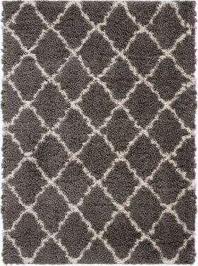 Nourison Luxe Shag Dark Grey