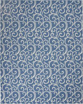 Nourison Grafix Blue