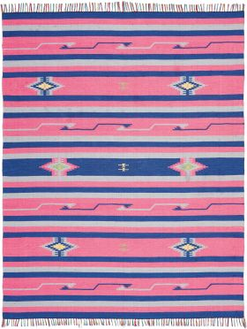 Nourison Baja Pink/Blue