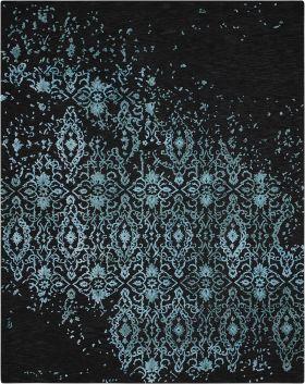"""Nourison Opaline Midnight/Blue 2'3"""" x 8'0"""" Runner"""