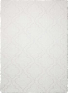 "Kathy Ireland Home Light & Airy White 5'0"" x 7'0"""