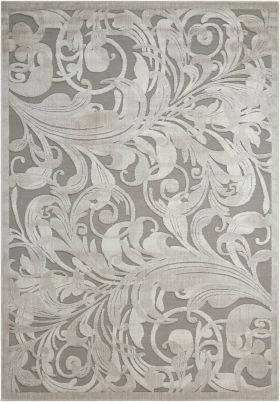 Nourison Graphic Illusions Gry/Camel