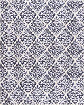 "Nourison Grafix White Blue 5'3"" x 7'3"""