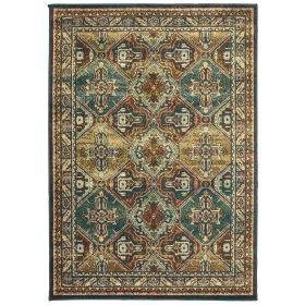 Oriental Weavers Dawson 8527a Teal