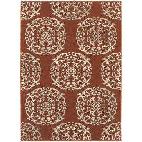 Oriental Weavers Highlands 6672b Red