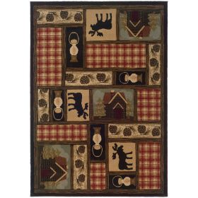 Oriental Weavers Hudson 1067a Brown