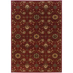 Oriental Weavers Hudson 3299a Red