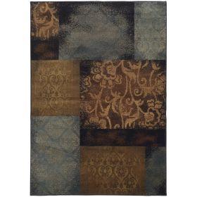 Oriental Weavers Hudson 4878b Blue