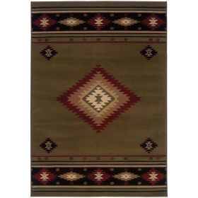 Oriental Weavers Hudson 87j Green