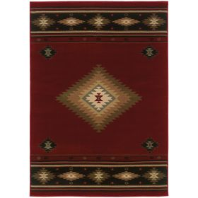 Oriental Weavers Hudson 87k Red