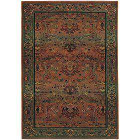 Oriental Weavers Kharma 465j Green