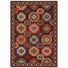 Oriental Weavers Lilihan 91r Red