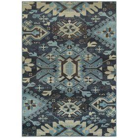 Oriental Weavers Linden 4302a Navy