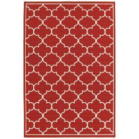Oriental Weavers Meridian 1295r Red