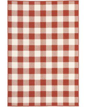 Oriental Weavers Meridian 2598r Red