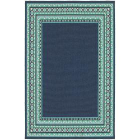 Oriental Weavers Meridian 9650b Navy