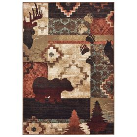 Oriental Weavers Woodlands 9649a Brown