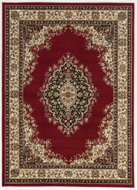 "Radici USA Como 1595 Red 2'2"" x 7'7"" Runner"
