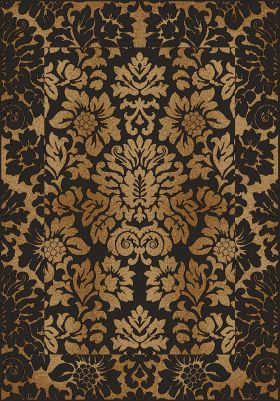 "Radici USA Como 1717 Brown/Gold 3'3"" x 4'11"""
