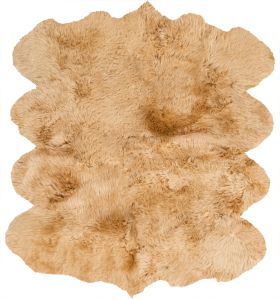 Surya Sheepskin Shs-9601 Wheat